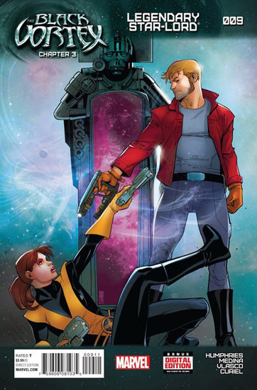 Marvel Comics Black Vortex #9 Legendary Star-Lord Comic Book