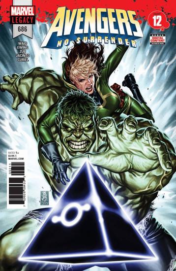 Marvel Comics Avengers #686 Comic Book