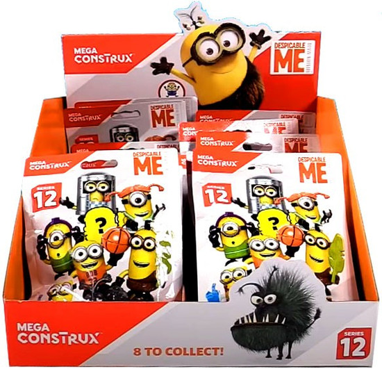 Despicable Me Minion Made Series 12 Mystery Box [24 Packs]