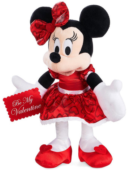 Disney 2018 Valentine's Day Minnie Mouse Exclusive 13-Inch Plush
