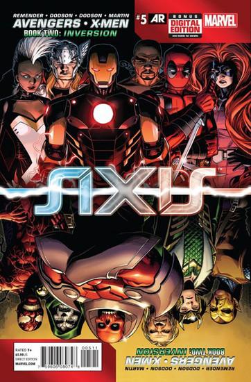 Marvel Comics Avengers vs X-Men #5 Axis Comic Book [Book Two: Inversion]