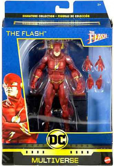 DC World's Greatest Multiverse Signature Collection The Flash Action Figure [1990, John Wesley Shipp]
