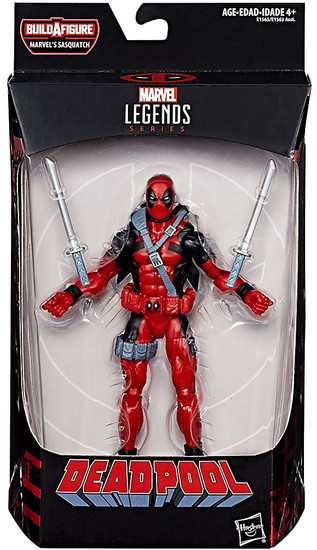 Marvel Legends Sasquatch Series Deadpool Action Figure