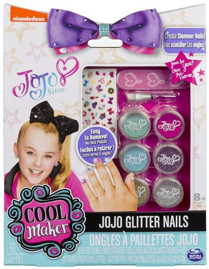 Nickelodeon JoJo Siwa Cool Maker JoJo Glitter Nails Kit