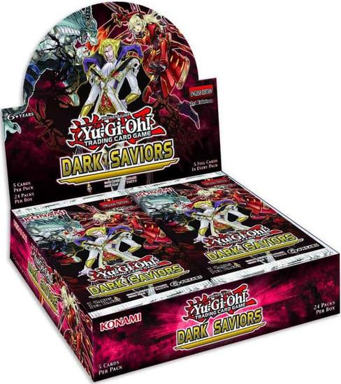 YuGiOh Trading Card Game Dark Saviors (1st Edition) Booster Box [24 Packs]