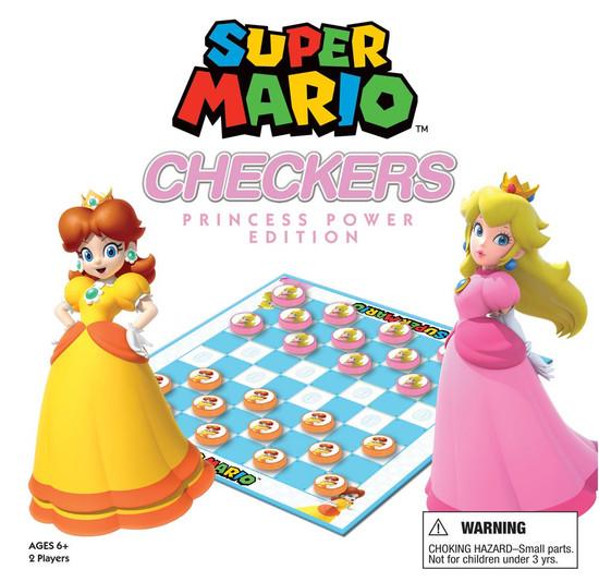 Super Mario Princess Power Edition Checkers