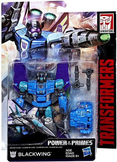 Transformers Generations Power of the Primes Blackwing Deluxe Action Figure