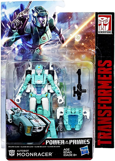 Transformers Generations Power of the Primes Autobot Moonracer Deluxe Action Figure