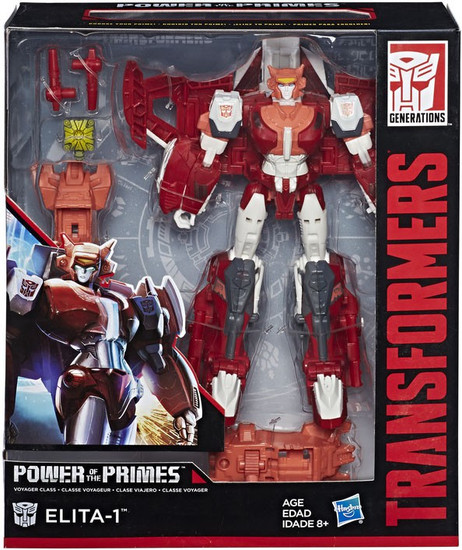 Transformers Generations Power of the Primes Elita 1 Voyager Action Figure