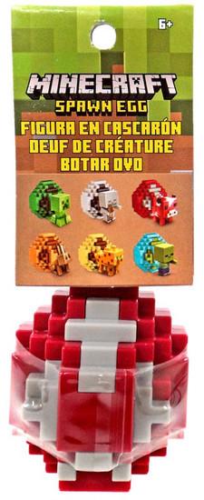 Minecraft Spawn Egg Mooshroom Mini Figure