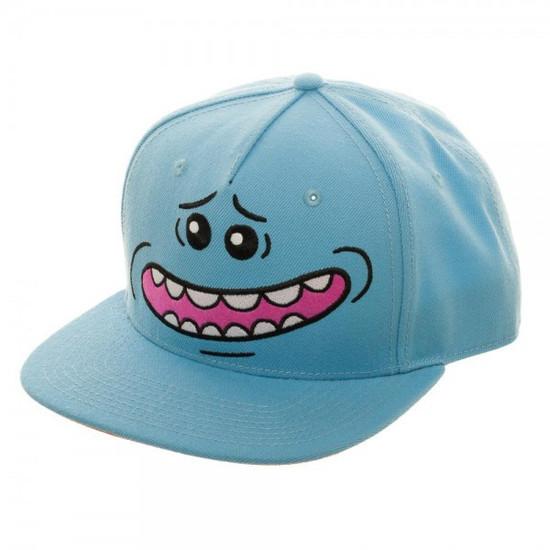 Rick & Morty Mr. Meeseeks Big Face Snapback Cap