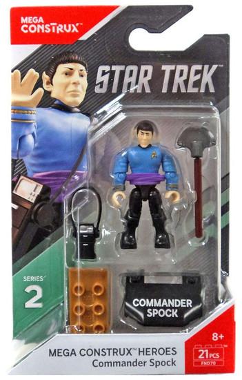 Star Trek Heroes Series 2 Commander Spock Mini Figure