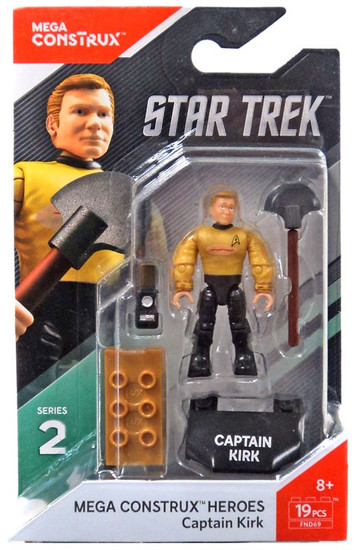 Star Trek Heroes Series 2 Captain Kirk Mini Figure