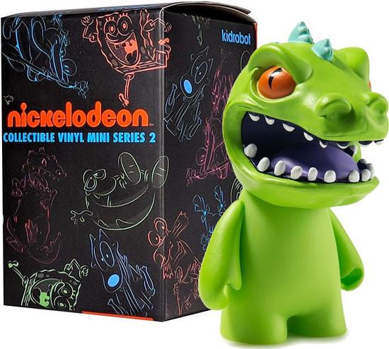 Nickelodeon Vinyl Mini Figure Nick 90's Series 2 3-Inch Mystery Pack [1 RANDOM Figure]