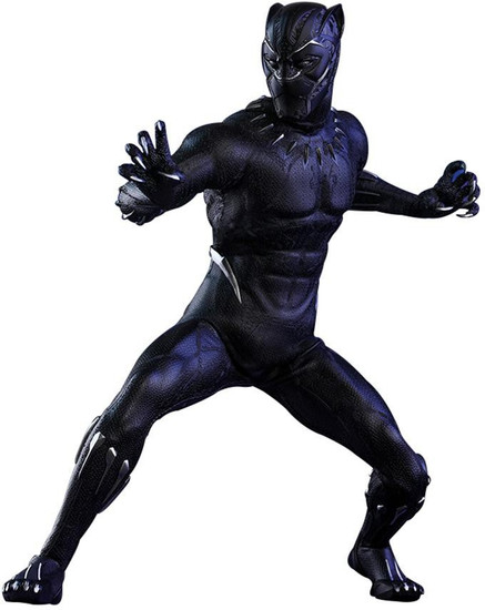 Marvel Movie Masterpiece Black Panther Collectible Figure MMS470