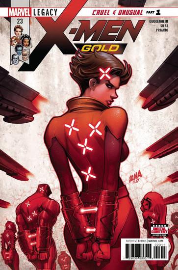 Marvel Comics X-Men Gold #23 Comic Book