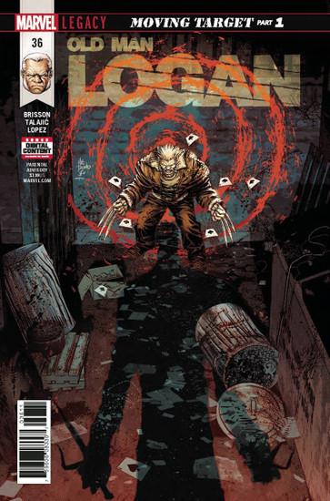 Marvel Comics Old Man Logan #36 Comic Book