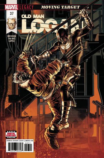 Marvel Comics Old Man Logan #37 Comic Book