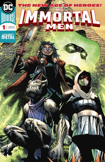 DC Immortal Men #1 Comic Book