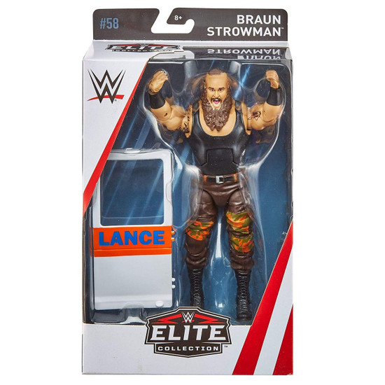 WWE Wrestling Elite Collection Series 58 Braun Strowman Action Figure