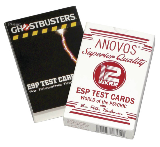 Ghostbusters Dr. Venkman's Superior Quality ESP Test Card Game