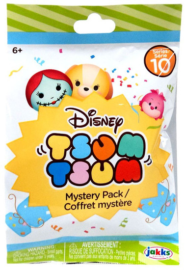 Disney Tsum Tsum Series 10 Mystery Stack Pack [1 RANDOM Figure]