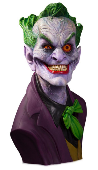 DC Gallery The Joker Life-Size Bust [Rick Baker, Standard Version]