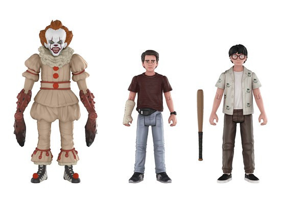 Funko IT Movie (2017) Pennywise, Richie & Eddie Action Figure 3-Pack