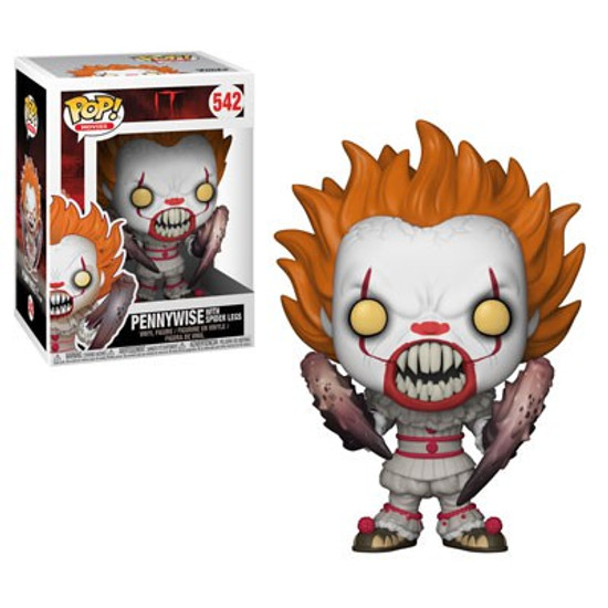 Funko IT Movie (2017) POP! Movies Pennywise with Spider Legs Vinyl Figure #542