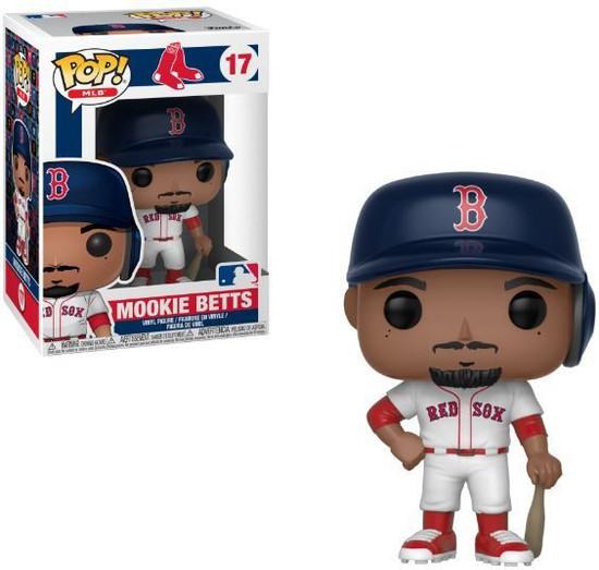 Funko MLB Boston Red Sox POP! Sports Baseball Mookie Betts Vinyl Figure #17