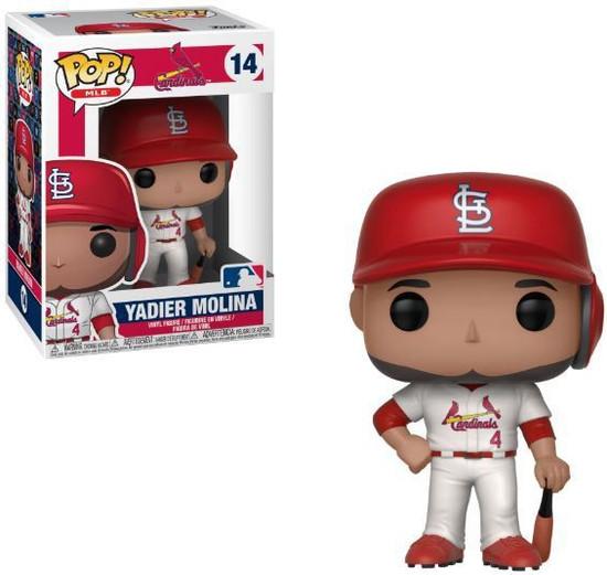 Funko MLB Saint Louis Cardinals POP! Sports Baseball Yadier Molina Vinyl Figure #14