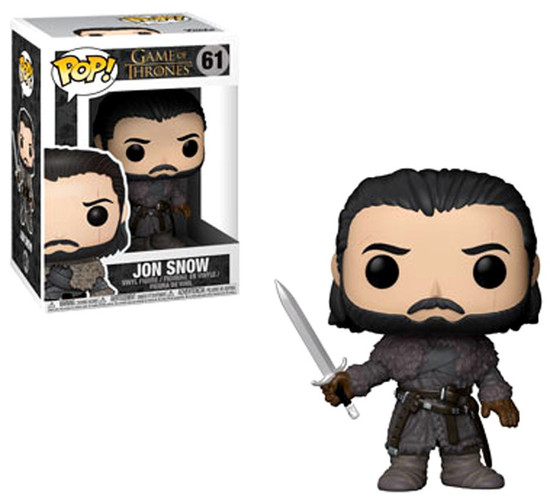 Funko Game of Thrones POP! TV Jon Snow Vinyl Figure #61 [Beyond the Wall]
