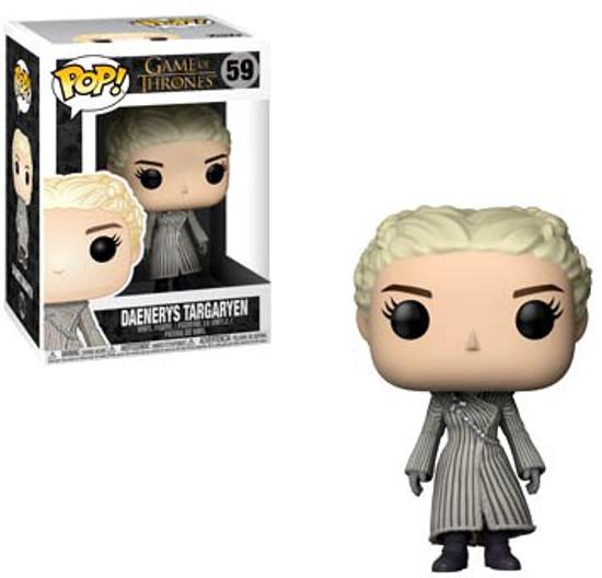 Funko Game of Thrones POP! TV Daenerys Vinyl Figure #59 [White Coat]