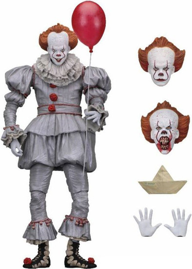 NECA IT Movie (2017) Pennywise Action Figure [Ultimate Version, Clean]