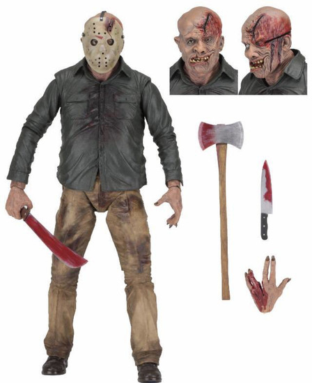 NECA Friday the 13th Quarter Scale Jason Voorhees Action Figure [The Final Chapter] (Pre-Order ships July)