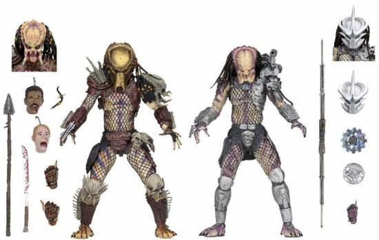NECA Predator Bad Blood & Enforcer Action Figure 2-Pack [Ultimate Versions]