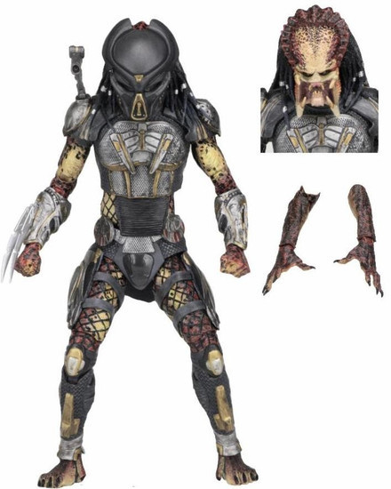 NECA 2018 Movie Fugitive Predator Action Figure [Ultimate Version]