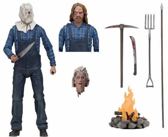 NECA Friday the 13th Part 2 Jason Voorhees Action Figure [Ultimate Version]