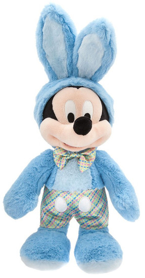 Disney 2018 Easter Mickey Mouse Exclusive 14-Inch Plush [Blue Bunny Costume]