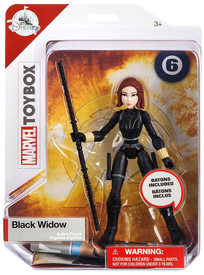 Disney Marvel Toybox Black Widow Exclusive Action Figure