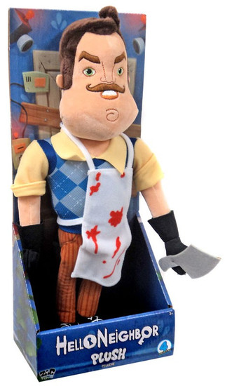 """Hello Neighbor The Neighbor with Apron & Cleaver 15-Inch Plush [15""""]"""