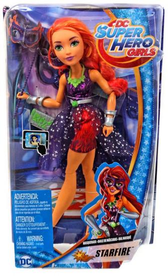 DC Super Hero Girls Masquerade Starfire 12-Inch Deluxe Doll