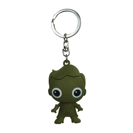 DC 3D Figural Keychains Series 2 Aquaman Keychain [Exclusive Loose]