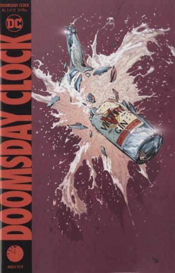 DC Doomsday Clock #3 Comic Book