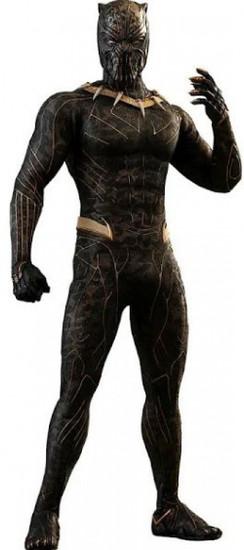 Marvel Black Panther Movie Masterpiece Erik Killmonger Collectible Figure MMS471