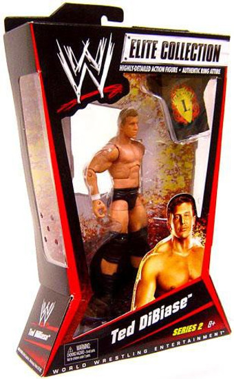 WWE Wrestling Elite Collection Series 2 Ted Dibiase Action Figure