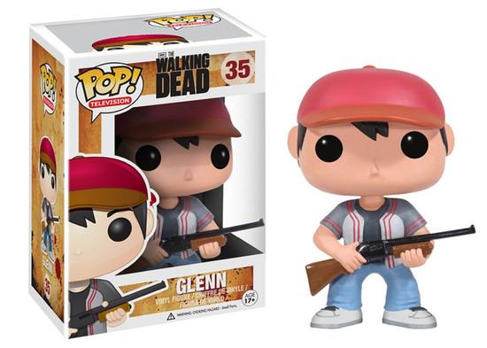 Funko The Walking Dead POP! TV Glenn Vinyl Figure #35 [Damaged Package]