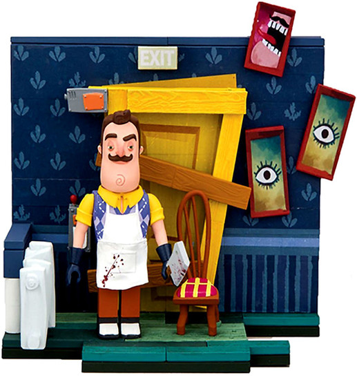 McFarlane Toys Hello Neighbor Basement Door Construction Set