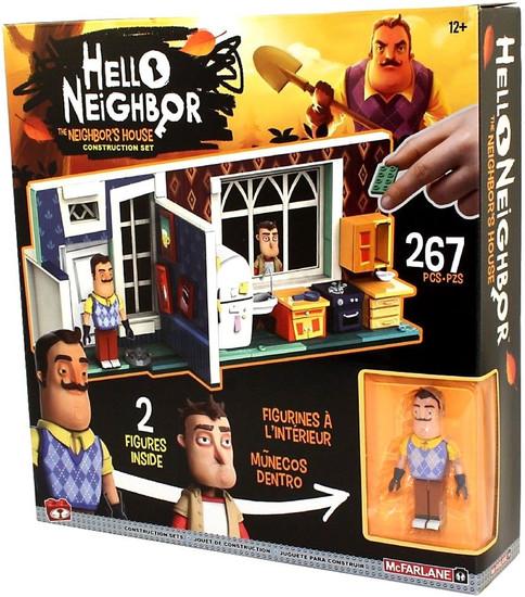 McFarlane Toys Hello Neighbor Neighbor's House Construction Set