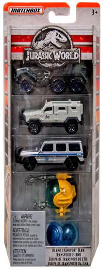 Matchbox Jurassic World Die Cast Car 5-Pack